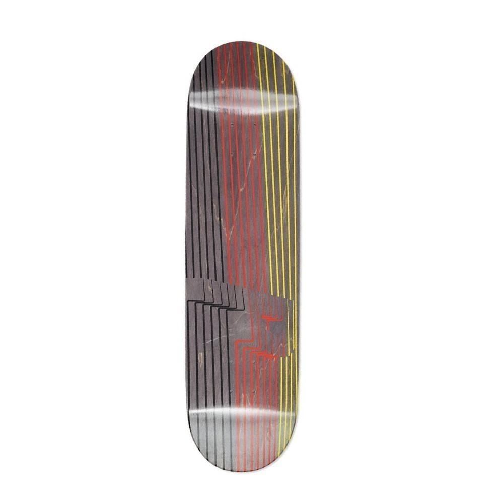 cfb97688535e Дека Palace Skateboards Drury P3 Black Red Yellow 8