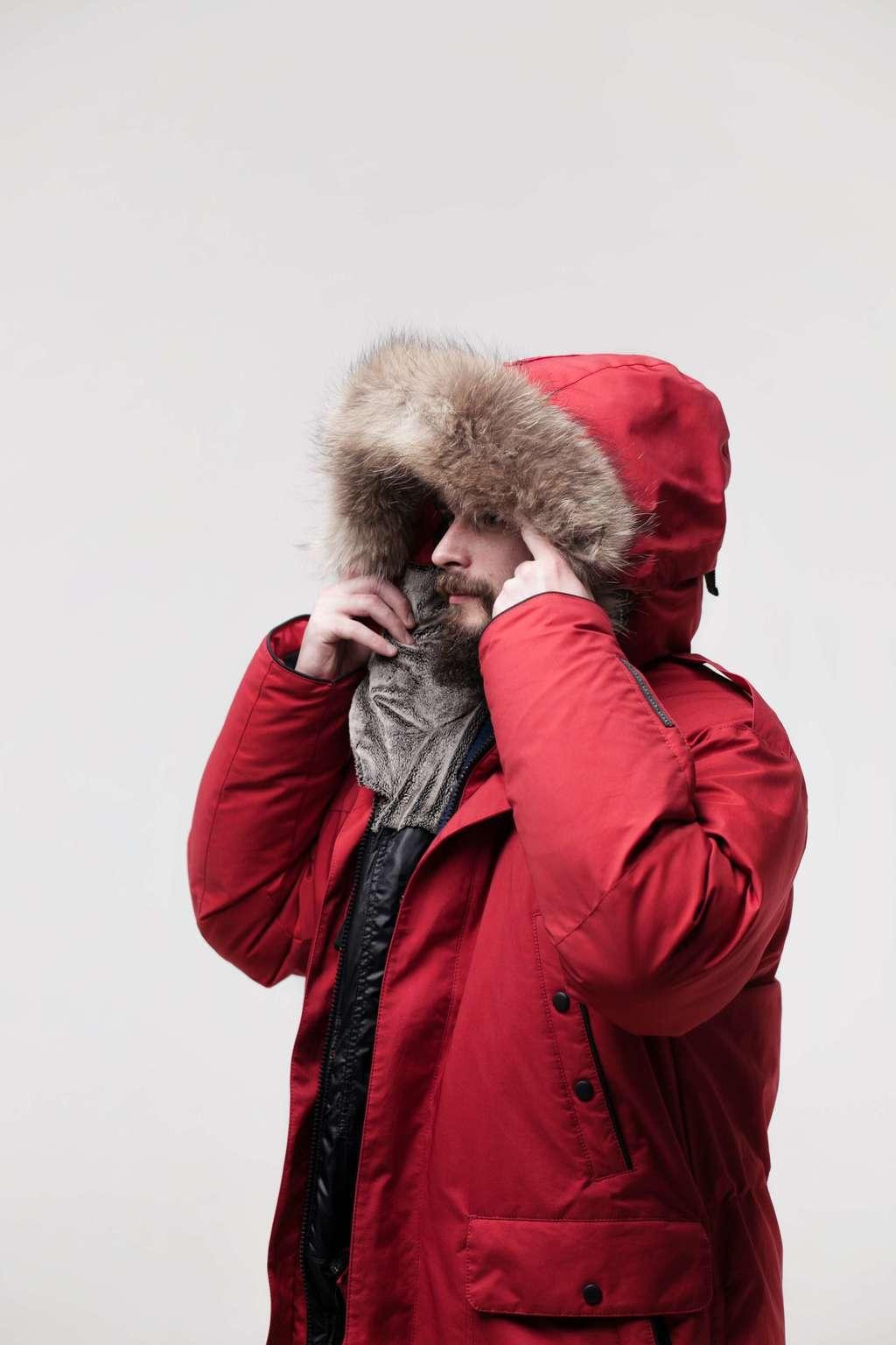 a9105aba8053 МУЖСКАЯ КОЛЛЕКЦИЯ > Куртка пуховая LAPLANGER Берген красная купить в ...