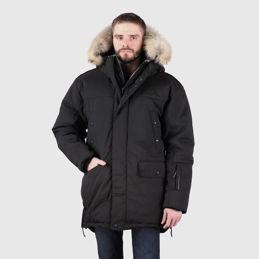 80a585de937e МУЖСКАЯ КОЛЛЕКЦИЯ > Куртка пуховая LAPLANGER Берген черная купить в ...