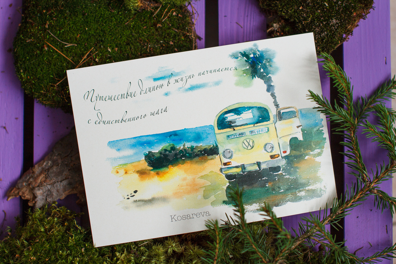 Писать открытки в другие страны