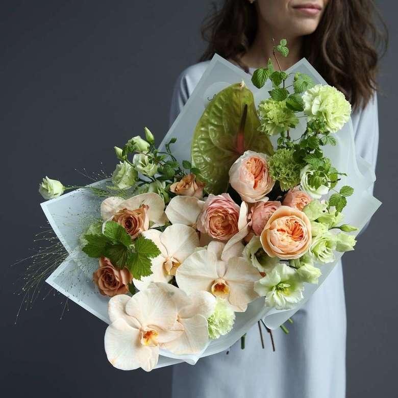 Антуриум зеленый букет невесты фото, цена цветы