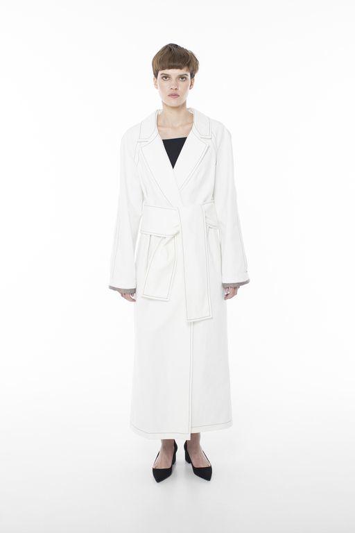 c5d1713cdc4 New   Легкое пальто Accent White купить в интернет-магазине