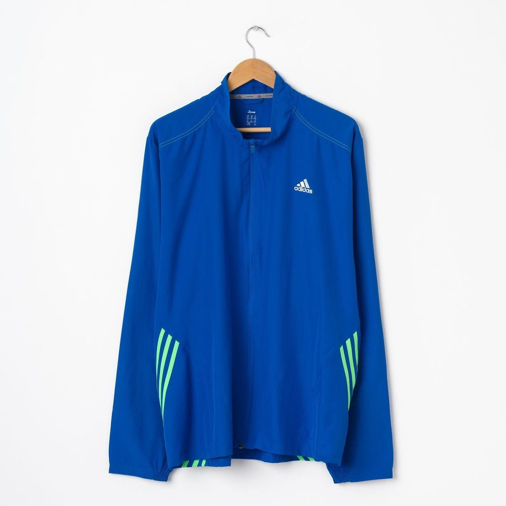 НОВИНКИ   Винтажная олимпийка adidas in blue купить в интернет-магазине eb9c406047afe