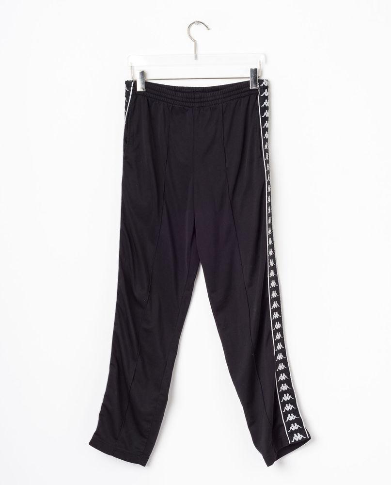 НОВИНКИ   Спортивные штаны KAPPA in Black купить в интернет-магазине 010b6ba7701