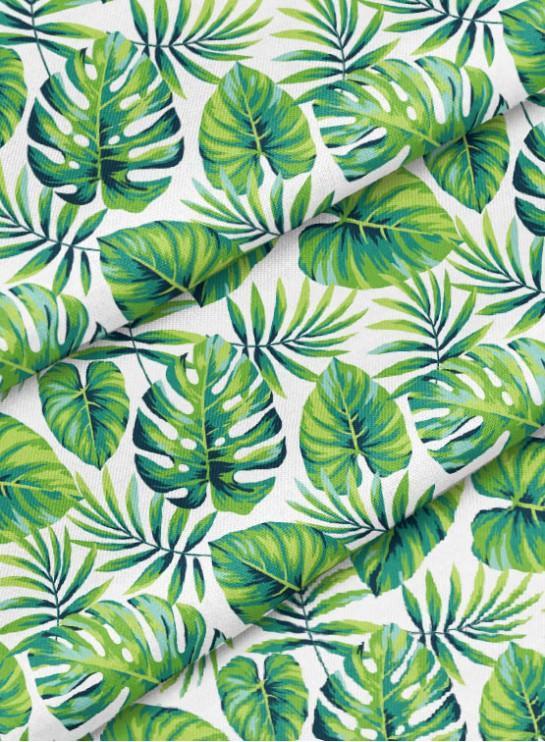 7bd22d5e70c2a Ткань хлопок премиум - Джунгли, листья монстеры – купить в интернет ...