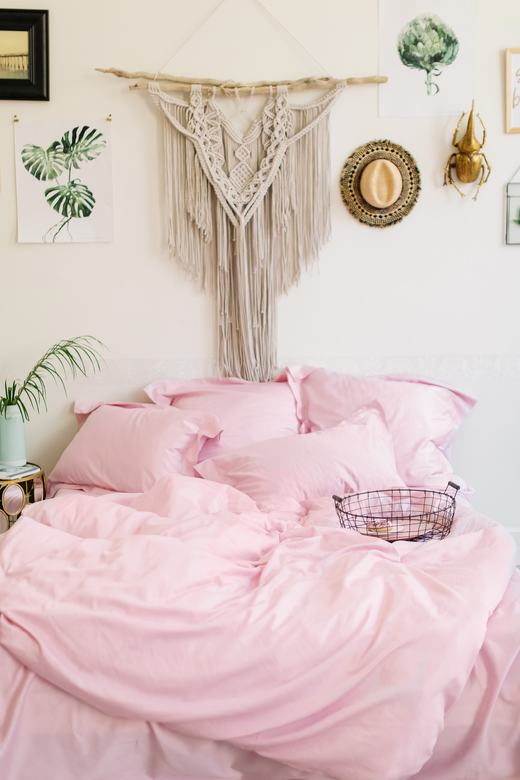 Пододеяльник Touch Me Home Нежно-розовый